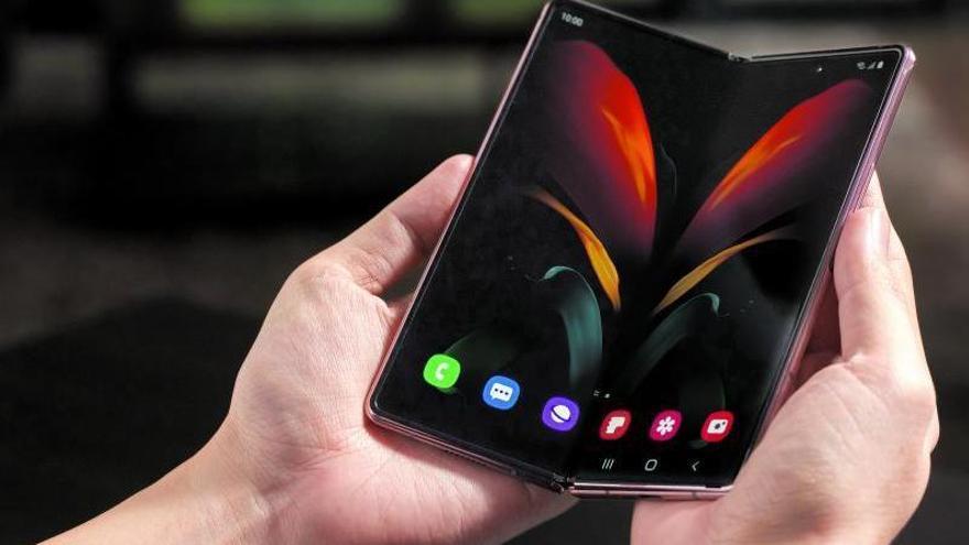El teléfono plegable de Samsung, el Galaxy Fold 2