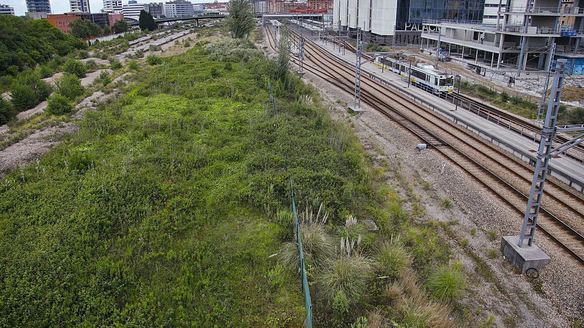 La zona de Moreda en la que se prevé la nueva estación intermodal de la ciudad.