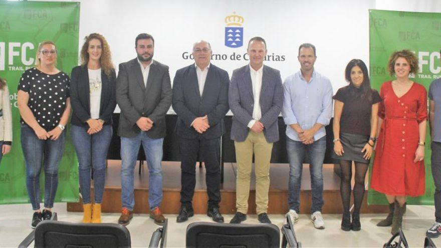 La primera Liga Canaria de Trail se pondrá en marcha el día 16 de febrero en Hermigua