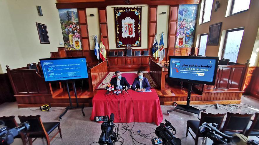El PP anuncia que  el Ayuntamiento de los Realejos trabajará con dos presupuestos en 2021