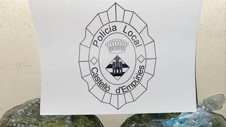 Detenen dos homes a Castelló per portar 700 grams de marihuana amagats al cotxe