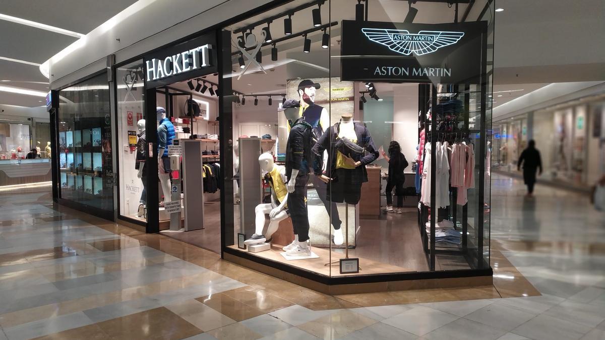 La firma británica Hackett London ha inaugurado una exclusiva tienda en Centro Comercial Miramar