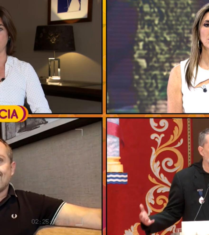 """Samanta Villar recuerda su complicado reportaje con Miguel Bosé: """"No es fácil de tratar"""""""