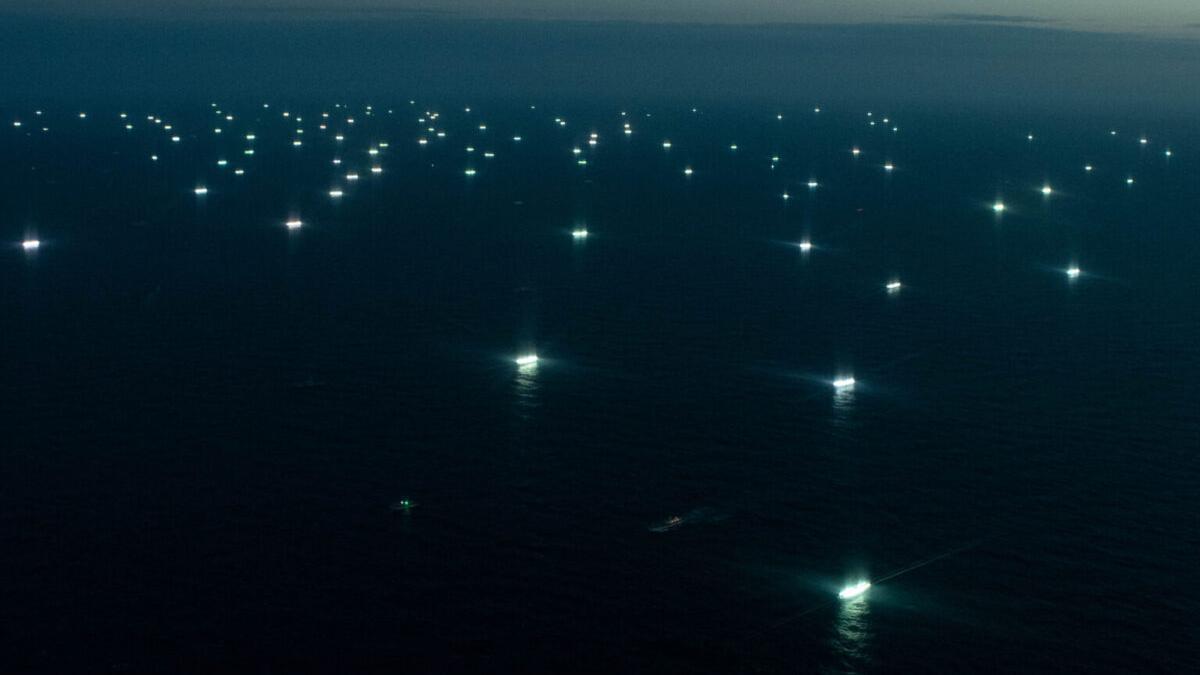 Macroflotas de arrastreros chinos destruyen los fondos marinos del planeta