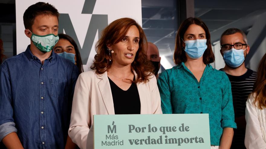 """Mónica García asume """"la responsabilidad"""" de """"liderar el cambio"""" en Madrid"""