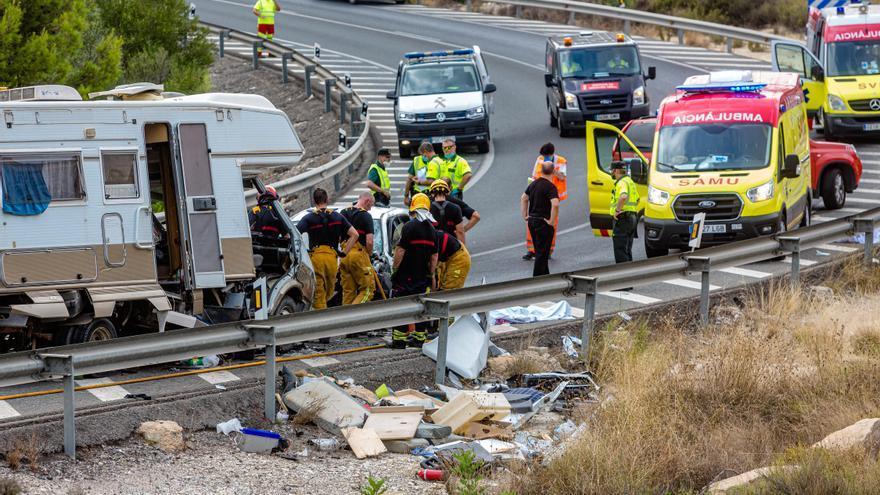 Alicante es la sexta provincia que más accidentes mortales registra en lo que va de 2021