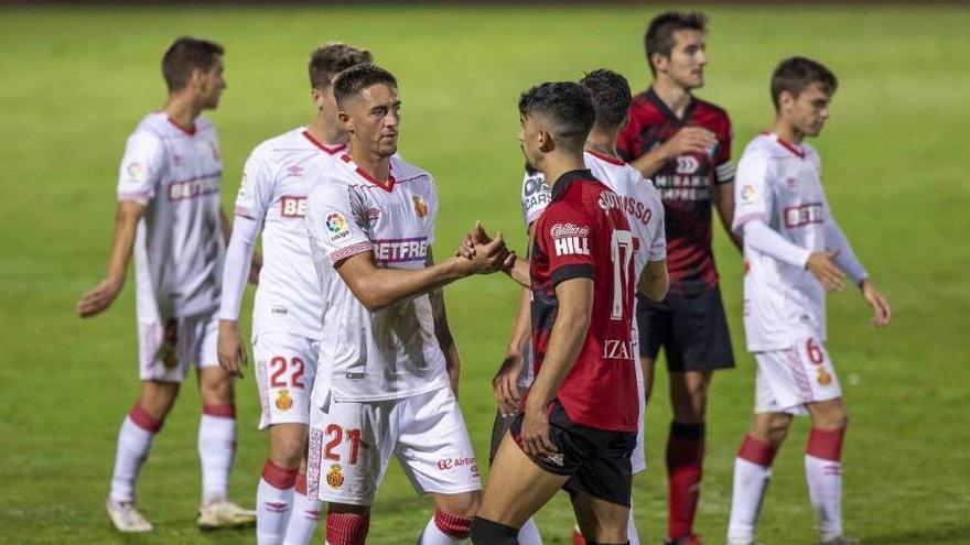 El Mallorca da por bueno el empate