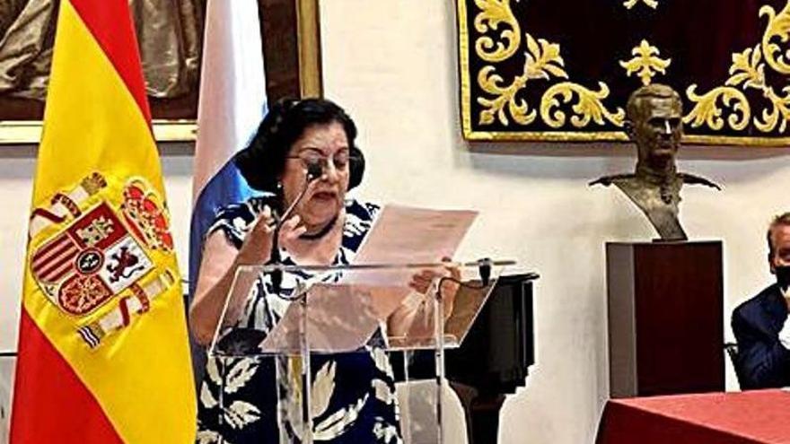 Rosario Álvarez, de nuevo presidenta de la Real Academia Canaria de Bellas Artes