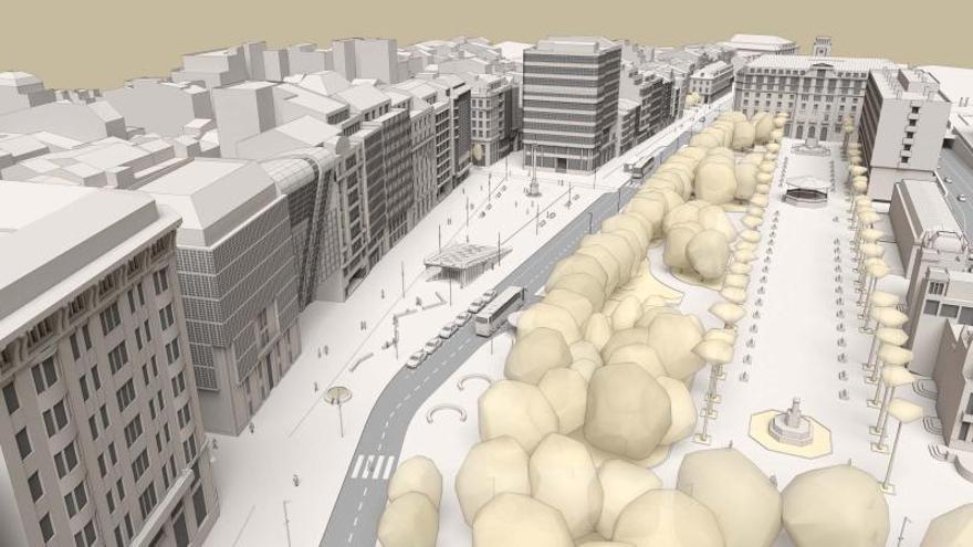 Los arquitectos apoyan reducir ya carriles en los Cantones pero reprochan la falta de un concurso