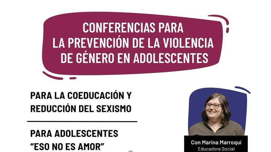 """Juventud """"ficha"""" a Marina Marroquí, premio """"Meninas 2020"""", para impartir charlas sobre violencia de género a adolescentes de El Campello"""
