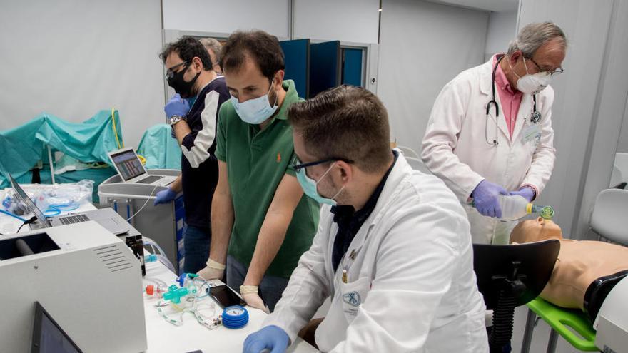 Cien respiradores 'made in València' para los hospitales valencianos