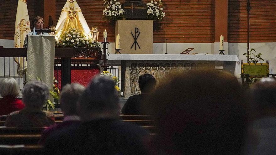 La Peña de Francia de Zamora inicia el novenario en honor a la Virgen