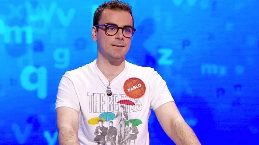 La imagen de Pablo Díaz, el concursante de Pasapalabra en Antena 3, que ha sorprendido a sus seguidores