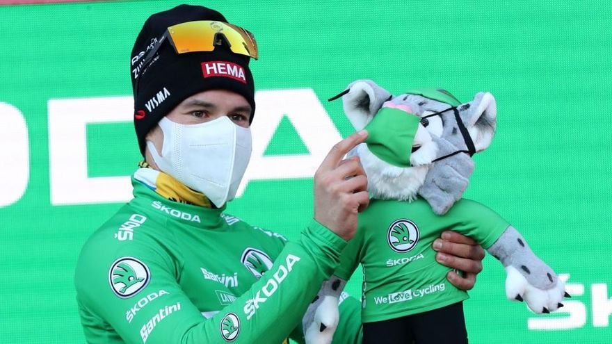Ganador de la etapa 13 de la Vuelta: Primoz Roglic