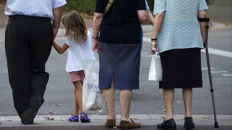 Actividad para los abuelos y sus nietos en Pinofranqueado
