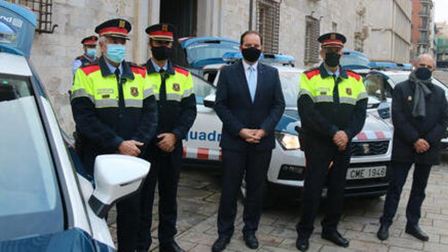 Els Mossos estrenen tres  nous vehicles a la regió de Girona