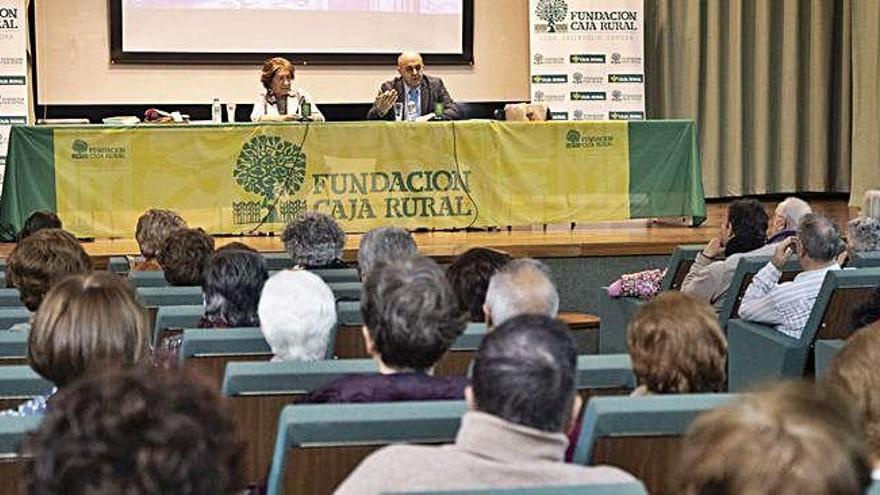 """Manuela Cabero en Zamora: """"Jubilarse no quiere decir que uno se retire de la vida activa"""""""
