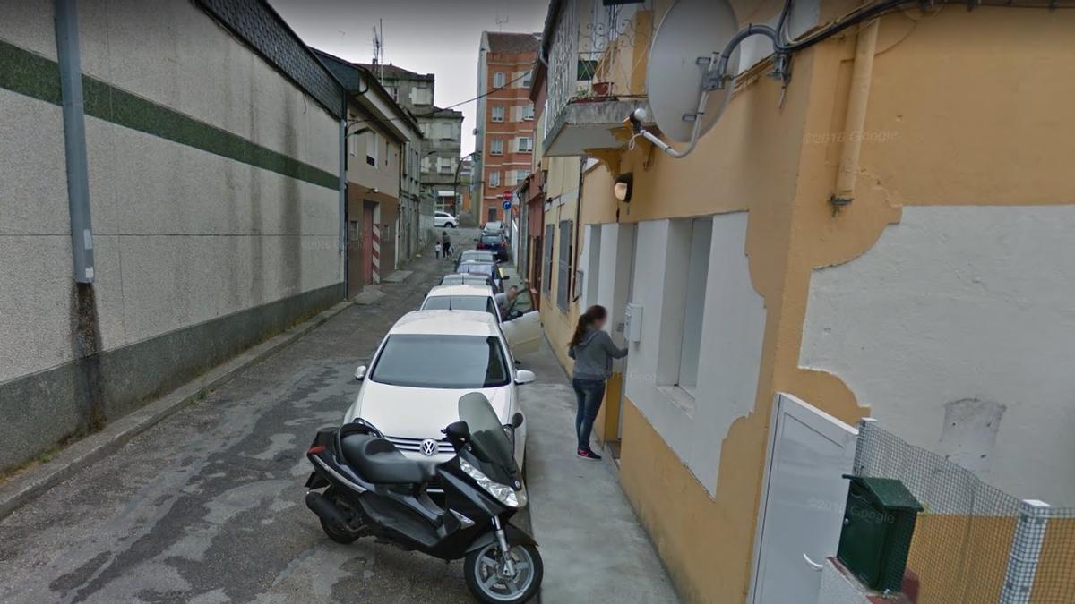 Los hechos ocurrieron en la viguesa calle Laxe Redomeira.