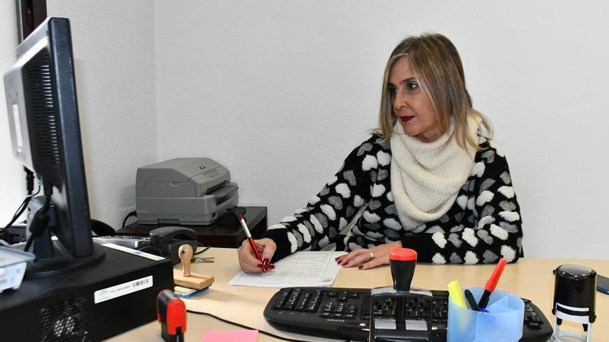Inés Calvente, nueva jueza de paz del municipio de Pujerra