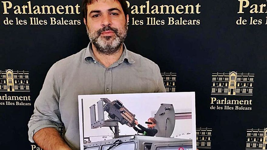 Josep Ferrà denuncia la «militarización» de la feria de Inca por las imágenes de los menores