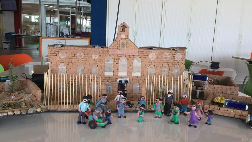 Un proyecto del Colegio Británico de Aragón mejora la calidad de vida de los residentes de la Casa de Amparo