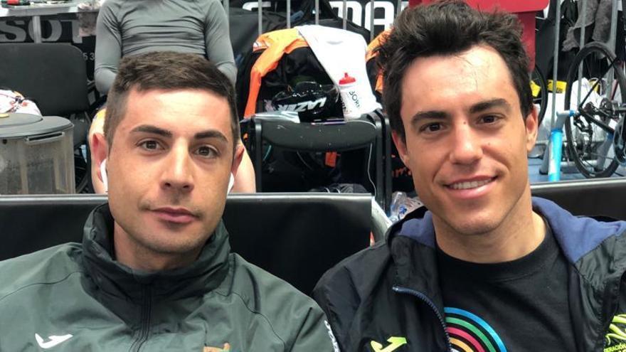 Sebastián Mora, quinto en el Mundial en la prueba de madison