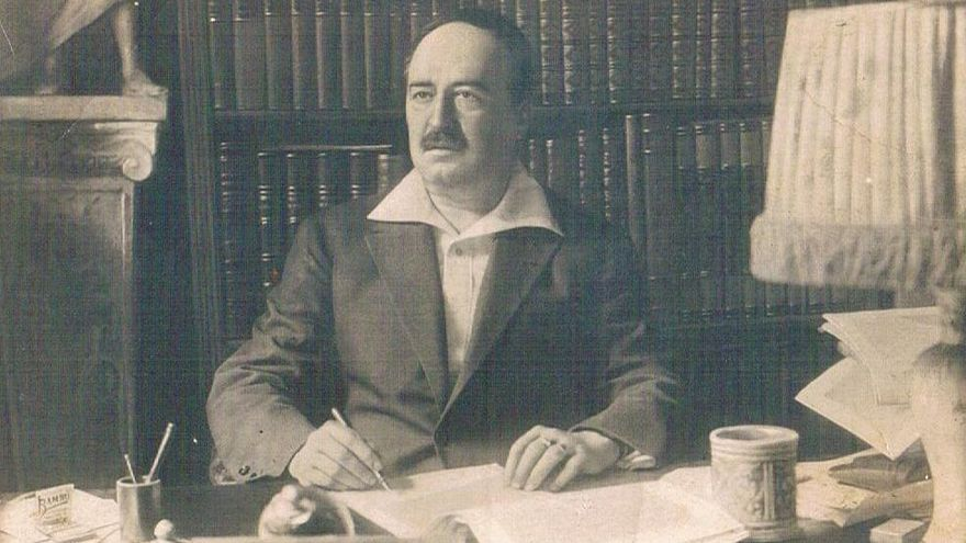 Blasco Ibáñez fue agasajado por la ciudad a su regreso de Estados Unidos