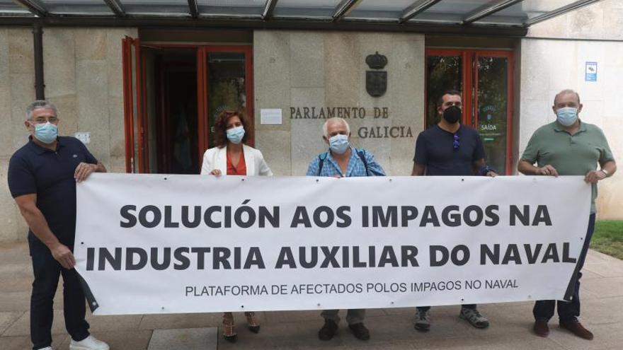 La Xunta elude comprometer ayudas directas a los auxiliares del naval que sufren impagos