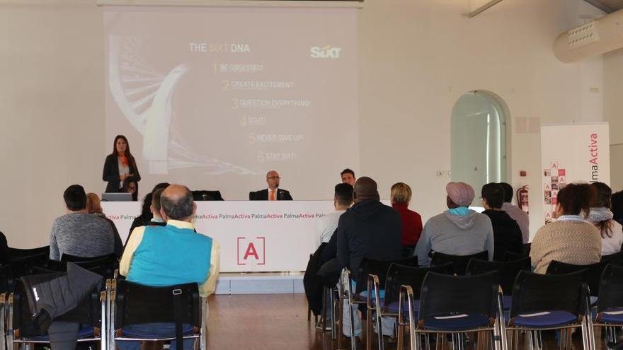 PalmaActiva realizará el día 19 una jornada de selección de personal para Sixt
