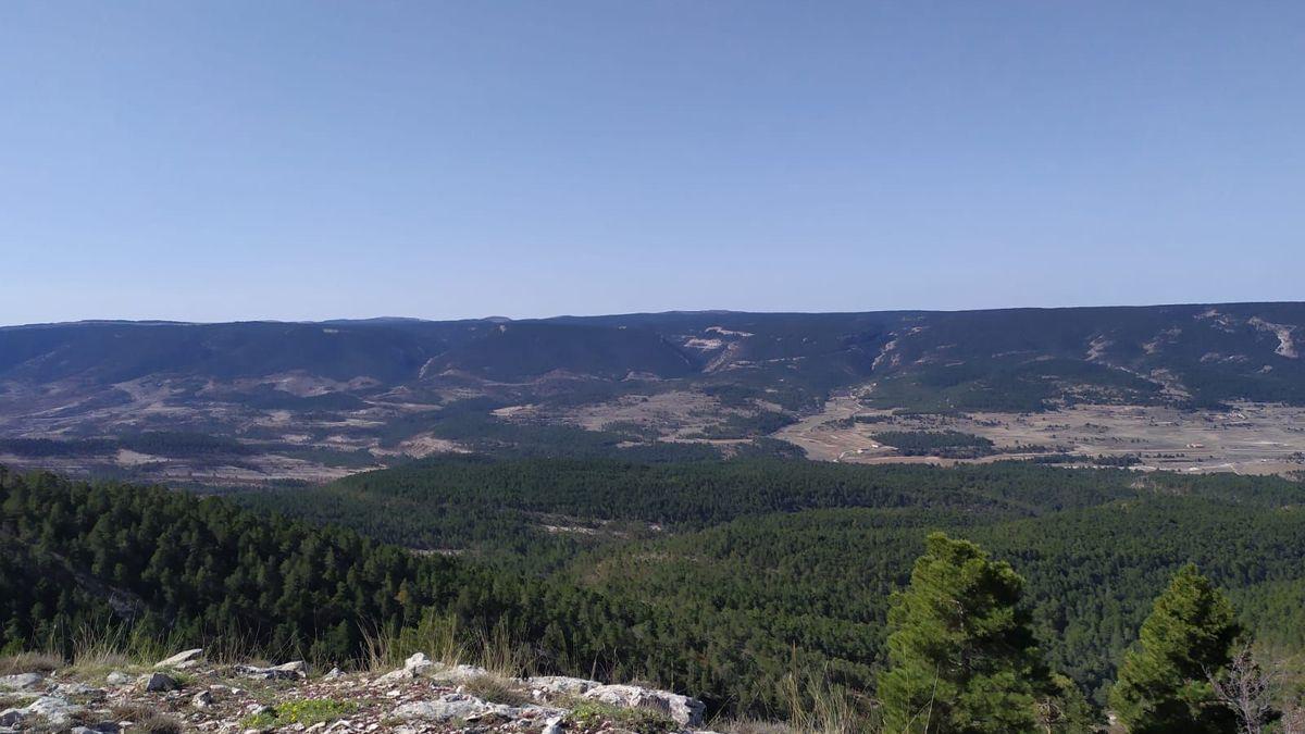Paisaje de la comarca del Maestrazgo