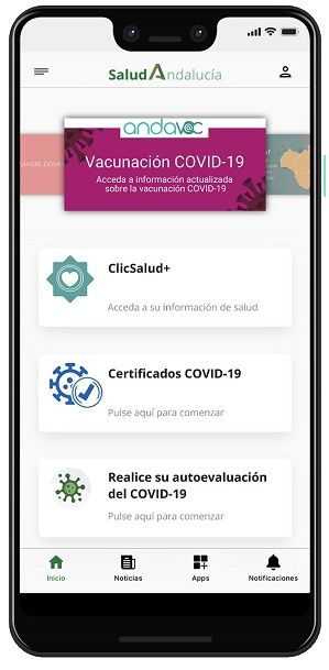 App Salud Andalucía