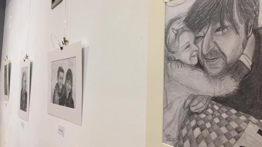 El arte no se confina: así es la exposición de dibujos de Moi Gómez, elaborada durante la cuarentena