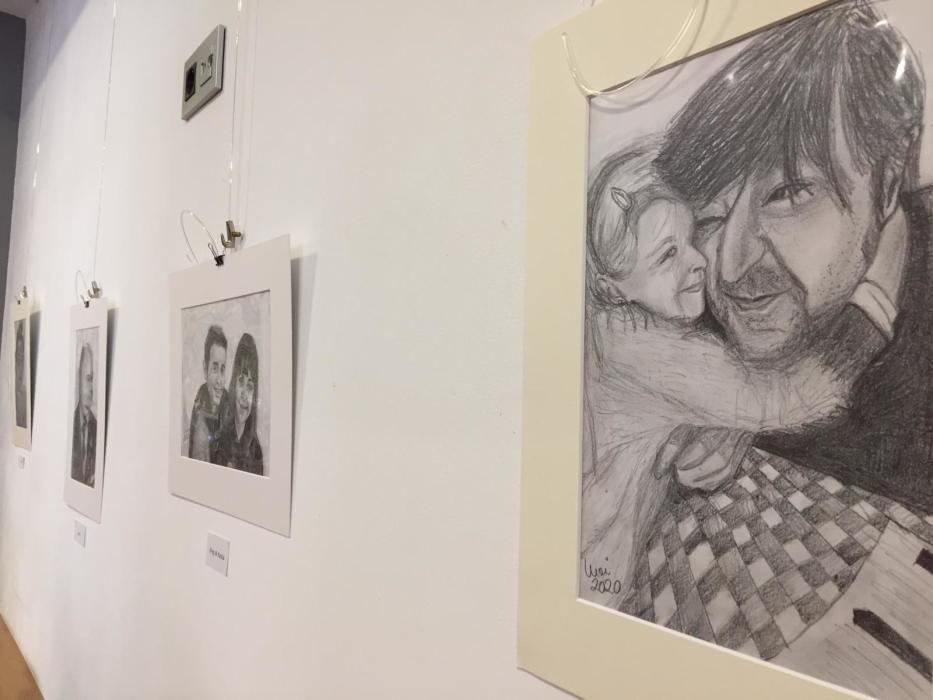 Exposición de Moi Gómez en Mieres