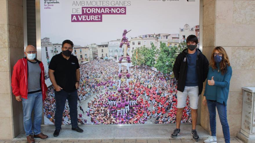 Els Moixiganguers d'Igualada tornen aquest diumenge a plaça