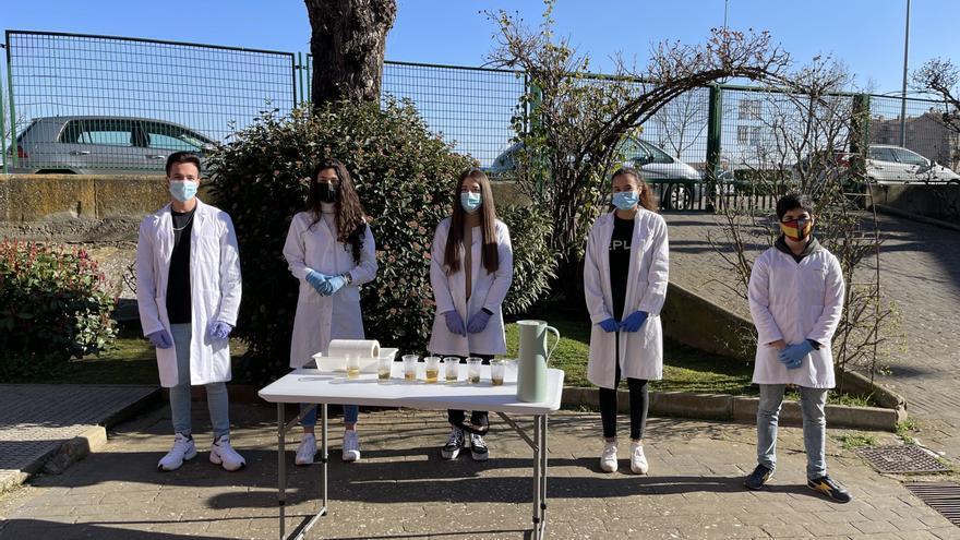 Jóvenes investigadores en Benavente