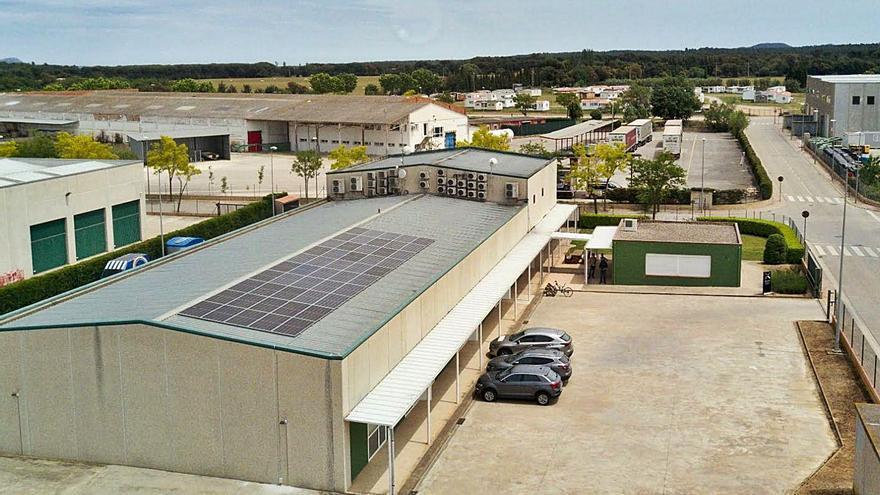 El primer viver d'empreses que funciona íntegrament amb energia solar, a Forallac