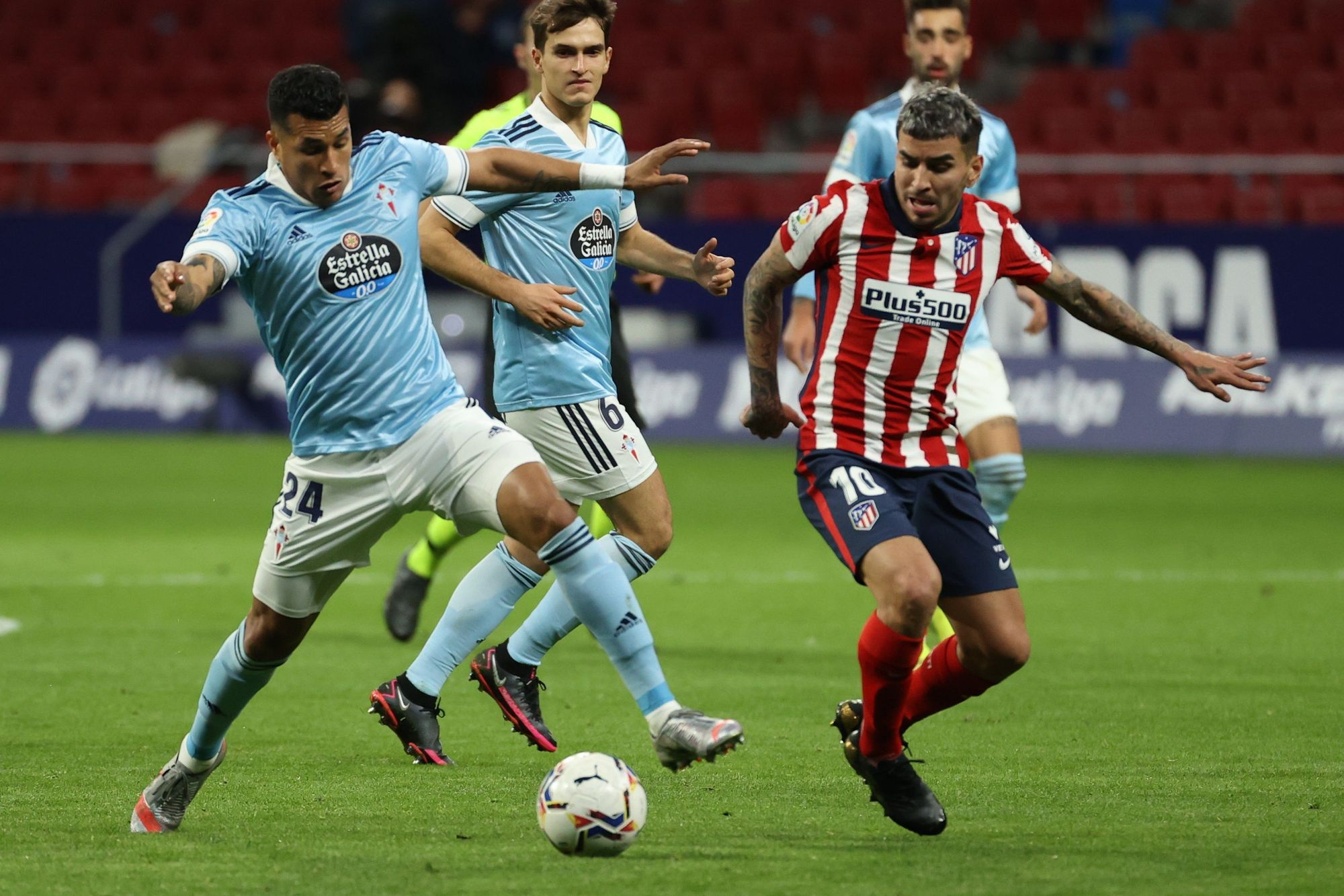 Las fotos del Atlético de Madrid - Celta en el Metropolitano