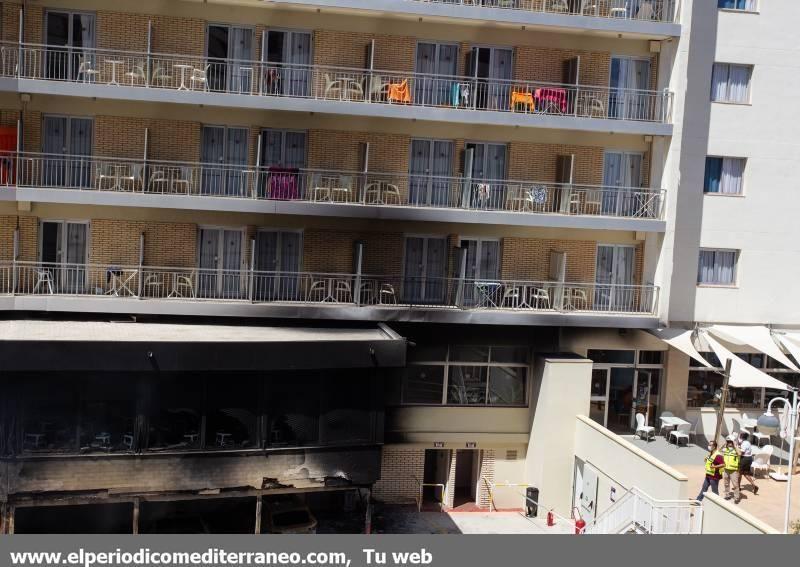 Incendio en el hotel Trinimar de Benicàssim