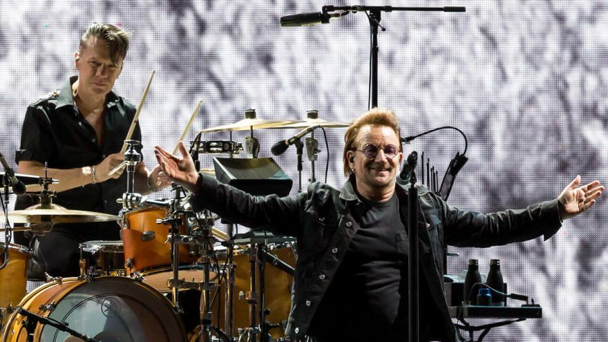 Bono en 10 canciones: el líder de U2 cumple 60 años