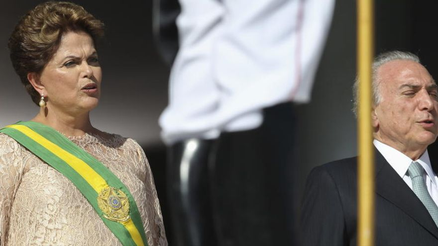 Temer y Rousseff, absueltos del cargo de abuso de poder