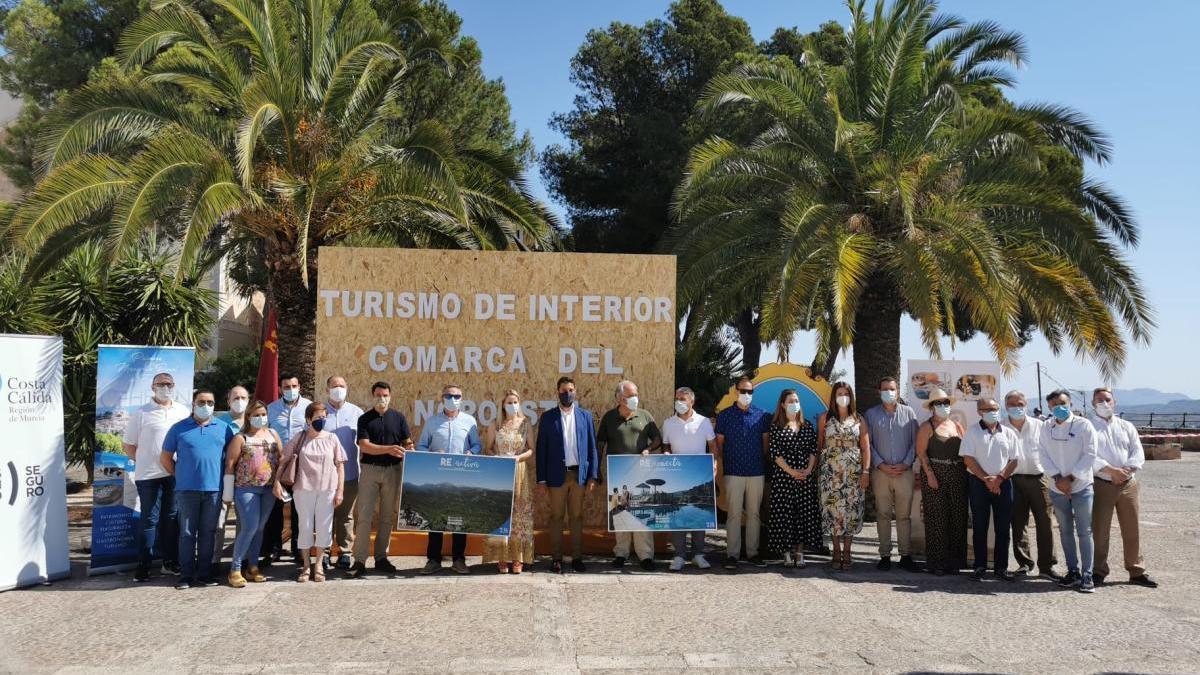 Turismo presenta en Cehegín la campaña 'Reencuéntrate en la Región de Murcia'