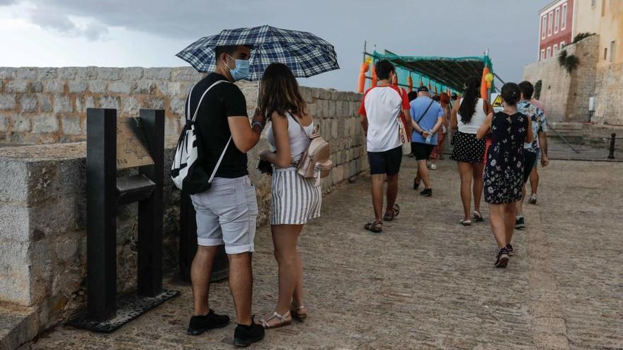 Llega a Ibiza la borrasca 'Lola'