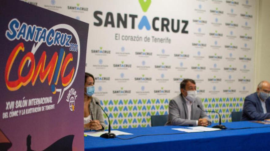 Santa Cruz de Tenerife celebrará online el XVII Salón del Cómic y La Ilustración