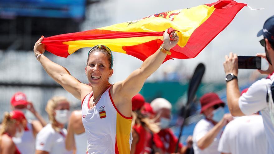 """Teresa Portela, emocionada tras lograr la plata en K1 200 m: """"Todavía no me lo creo"""""""