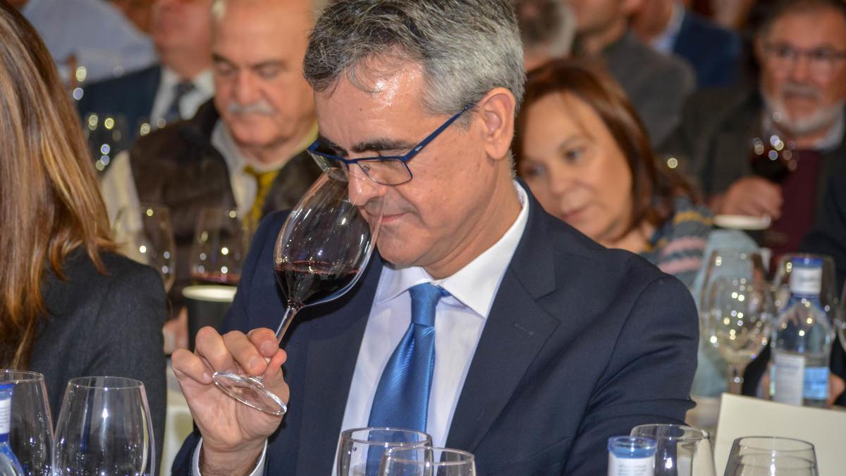 Silvano García, presidente del Consejo Regulador de la DOP Jumilla.