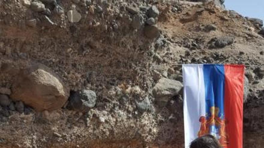 La Iglesia Serbia se manifiesta contra Montenegro en Gran Canaria