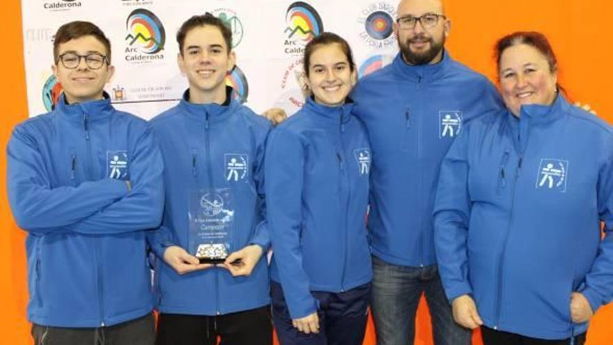 Almussafes recoge un oro y una plata en la Copa Federación de tiro