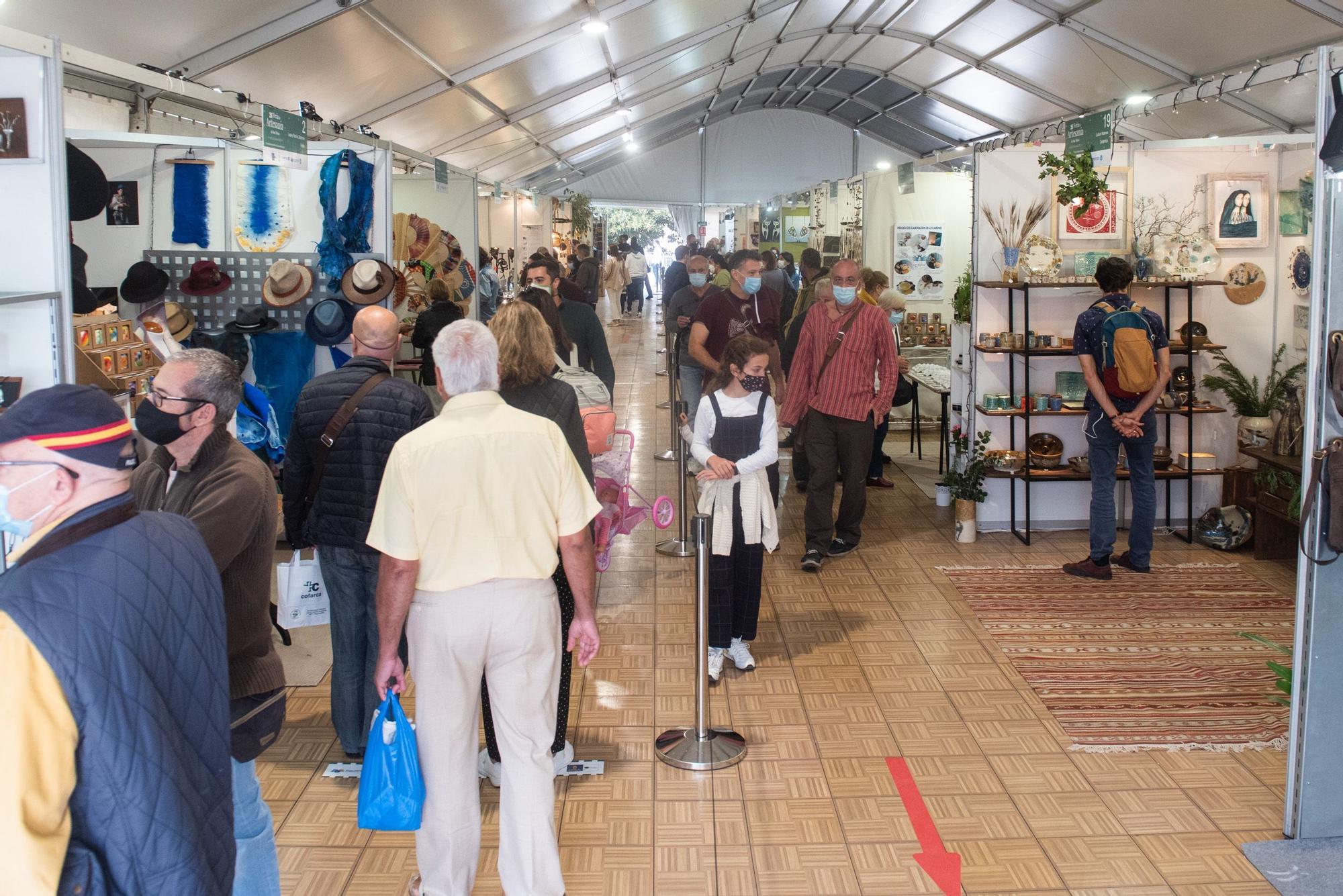 Inaugurada la Feria de Artesanía