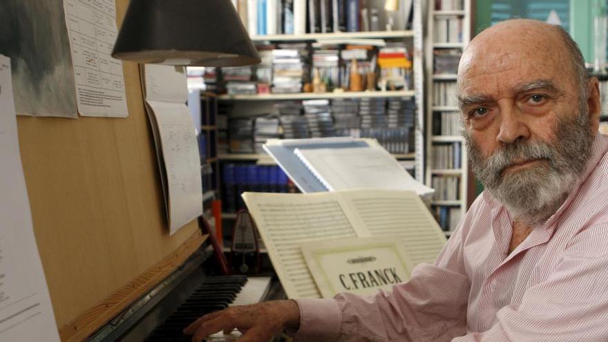 El compositor español Luis de Pablo, León de Oro de Música en Bienal Venecia