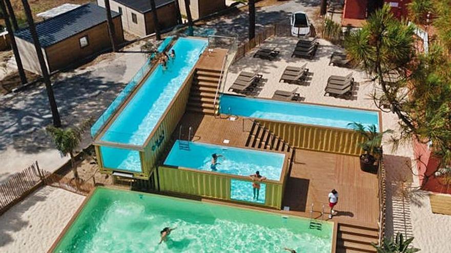 La piscina más grande y alta de Europa es ourensana y se encuentra en Nazaré